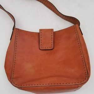 Fossil Leather Purse Magnetic Closure - Gorgeous!